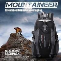 30L Fold Travel Backpack Mountain Zip Bag Outdoor Sports Hiking Camping Climbing