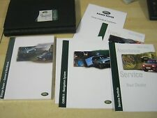 RANGE ROVER P38  HANDBOOK  OWNERS MANUAL 1998-2004 SERVICE BOOK NEW REF M45
