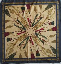 -Superbe Foulard  ALTEA  100% soie  TBEG  vintage scarf  87 x 90 cm