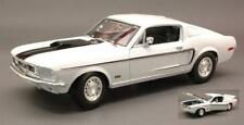 Ford Mustang Gt Cobra Jet 1968 White 1:18 Maisto MI31167W