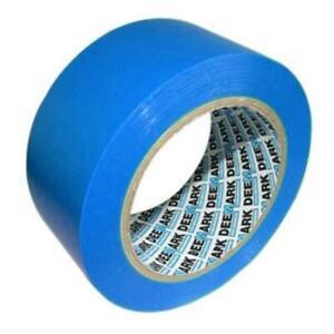 Deemark 00803BUBDPK3 Bodenmarkierungsband Markierungstape 50mmx33m Blau