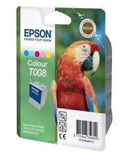 EPSON Original T008 Tinte Tintenpatrone farbig f. Stylus Photo 780 7 - NEU - OVP