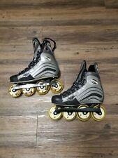 Mission Helium 150 Hi-Lo Inline Hockey Skates Roller Blades Size 8D