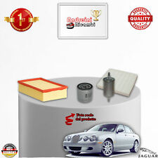 KIT TAGLIANDO FILTRI JAGUAR S-TYPE 3.0 V6 175KW 238CV DAL 2001 ->