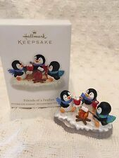 HALLMARK Keepsake 2011 FRIENDS OF A FEATHER CHRISTMAS TREE ORNAMENT NEW
