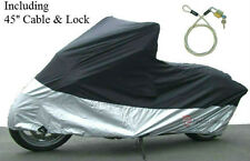 Motorcycle Cover Fit Yamaha FJR 1300A . w/ Lock . XL