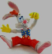 Pvc Roger Rabbit Seated Jessica Went Thataway Disney 1988 Bully Figure Set Lot