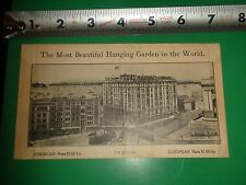 JC298 Vintage Envelope Ad Hotel Lincoln Seattle Washington