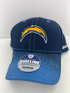 LOS ANGELES CHARGERS STRUCTURED SIDELINE FLEX FIT SIZE L/XL NFL CAP/HAT REEBOK