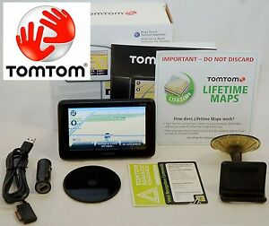 "NEW TomTom PRO 7150 Truck Software GPS Set 4.3"" USA/Can LIFETIME MAPS fleet work"
