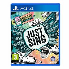 Just Sing PS4 Game - Brand New!