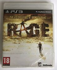 PS3 Rage (2011), French Version, Brand New & Sony Factory Sealed