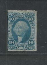 R36a ( Imperforate )  10-Cents INLAND EXCHANGE Used