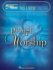 The Best Praise & Worship Songs Ever Sheet Music E-Z Play Today Book N 000100256