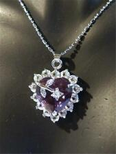 PRETTY SILVER PLATED PENDANT NECKLACE - GIFT BAG - FREE P&P..............W0164
