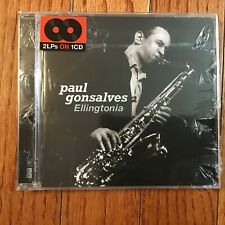 Paul Gonsalves, Elligtonia. Still Sealed, CD,