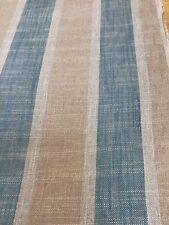 Belgium 100% Linen Stripe Woven Fabric.