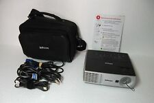 InFocus IN1100 DLP LCD Projector 1024x768 XGA USB Mini-B VGA S-Video Composite