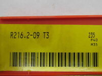Sandvik Coromant R216.2-09 T3 235 Carbide Insert Grade 235 Box of 10pcs
