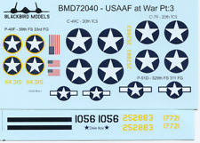 USAAF at War Pt:3 1/72nd scale decals