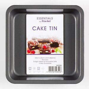 Prochef Teflon Non-Stick Premium Coated Baking Victoria Sponge Cake Sandwich Tin
