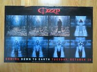 OZZY OSBOURNE Coming Down to Earth Tuesday, October 16, 2001 Promotional Poster