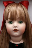 "Huge Reproduction Kammer Reinhardt & Simon Halbig 34"" Doll Bisque Head Beautiful"