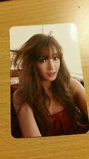 Snsd tiffany i wanna Dance official Photocard Card Kpop K-pop