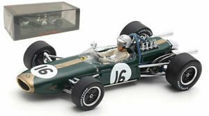 Spark S7114 Brabham BT19 Dutch GP 1966 World Champion - Jack Brabham 1/43 Scale