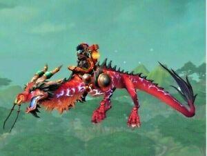 WoW Mount Zügel der donnernden Rubinwolkenschlange Reittier World of Warcraft