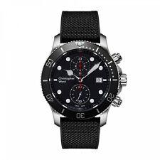 NEW Christopher Ward C60 Trident Pro 300 S60-43QCH1-S0KK0-HK 43mm Quartz Watch
