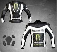 Monster Motorcycle motorbike rider racing leather jacket-LLJ-05