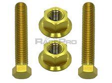 RACEPRO - ORO pernos de ajuste Titanio Para Cadena Eje - Suzuki Gsxr750 k4-k5