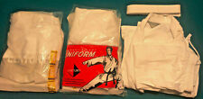 Opened Unused Century Ma Karate Uniform Jacket Pant Belt Lightweight 6 Oz White