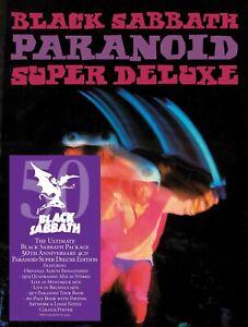 BLACK SABBATH Paranoid 50th Anniversary 4 CD SUPER DELUXE 2020 EDITION BOX SET