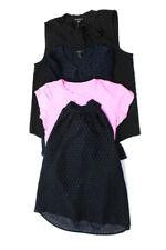 J Crew Womens Blouses Tops Pink Navy Blue Black Size XS 0 8 M Lot 4