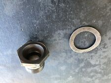 Oe Crankshaft Flywheel Gland Nut And Washer 113105307B 68-74 Vw Bug Auto Stick