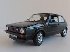 Vw golf 1 GTI 1976 negro coche a escala 1 18 / Norev