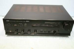 Yamaha AX-630 Natural Sound Stereo Integrated Amplifier 85W/Channel - Vintage