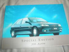 Peugeot 306 Alpine Special Edition brochure Dec 1994