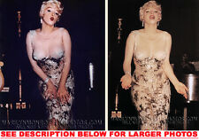 MARILYN MONROE SOME LIKE IT HOT ONSET 2xRARE8x10 PHOTOS