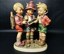 "New ListingVintage Goebel Hummel Figurine #170/Iii - School Boys - 9.5"" Tmk 5 - E-33021a"
