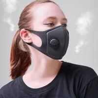 1 stücke staubmaske schwamm polyurethan maske doppel dicke atemventil OOC