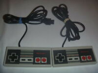Official Genuine OEM Nintendo Nes Brand Controller Gamepad NES-004 Set Lot Of 2