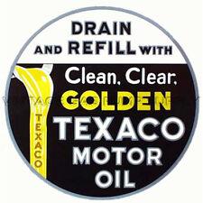 "Golden Texaco 10"" Water Transfer Decal (DW408)"