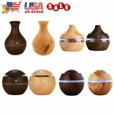 USB LED Aroma Humidifier Essential Oil Diffuser Aromatherapy Purifier Ultrasonic