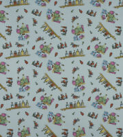 Diddly Bottles Ashley Wilde Roald Dahl 100% Cotton Curtain & Upholstery Fabric