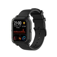 1 PC Screen Protective Case for Amazfit GTS Smart Watch, Black Screen Cover