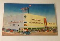 Vintage Postcard Webb's City, Unusual Drug Store, St. Petersburg, FL, Linen N1