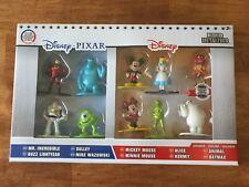 10 Pack Nano Metalfigs Disney Pixar Mini Diecast Metal Figure Set Collectible